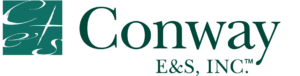 Logo for Conway E&S Insurance risk solution provider for independent retail insurance brokers